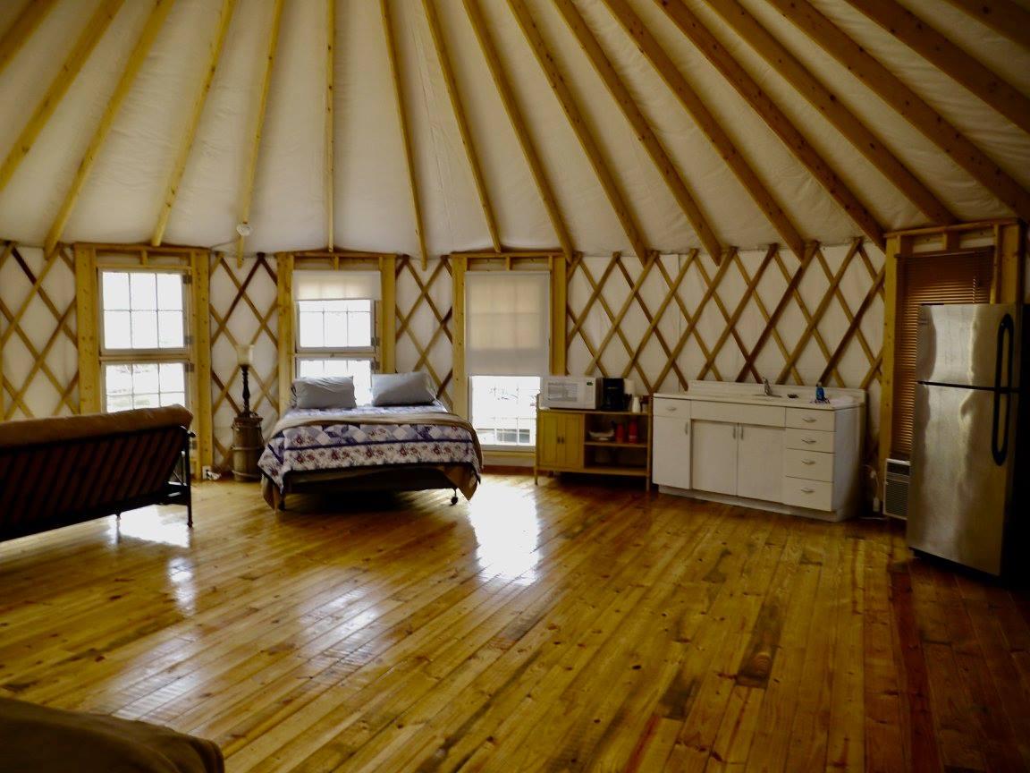brown mountain beach resort – blue ridge yurts