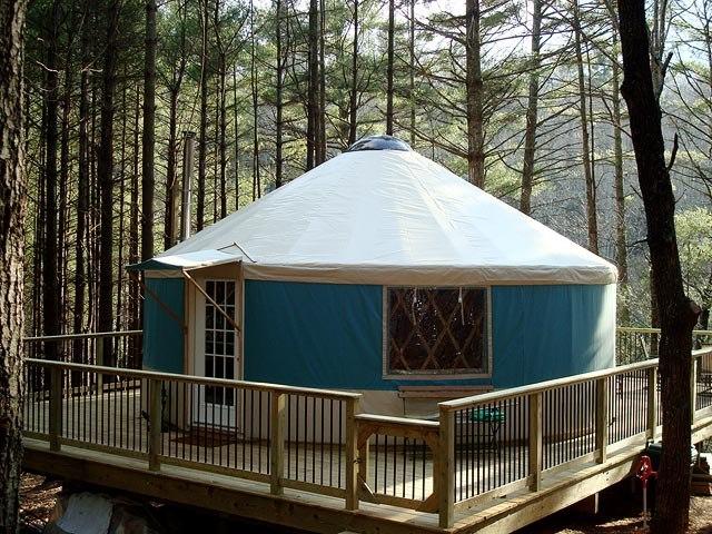 Exterior Photos – Blue Ridge Yurts